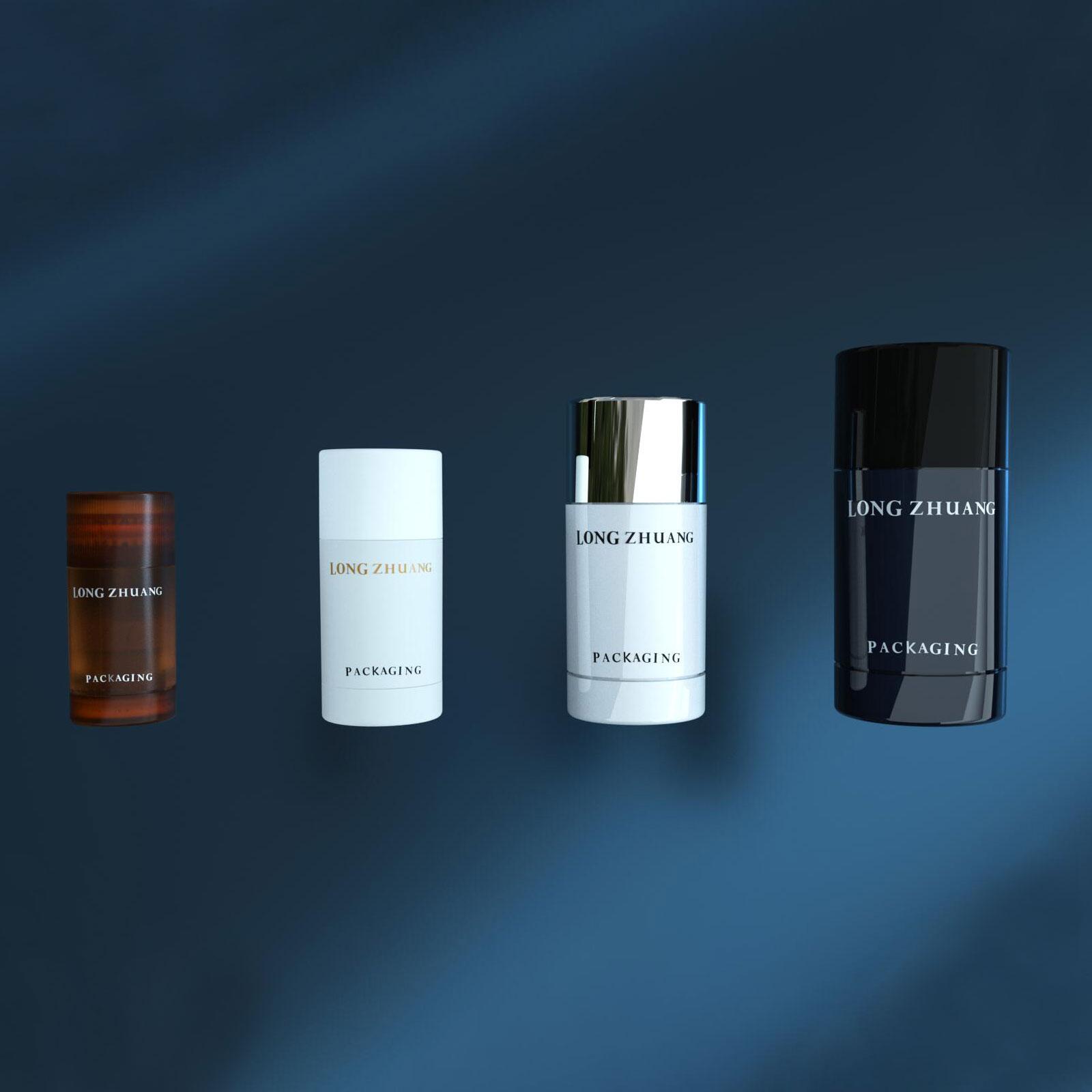15 ml 30 ml 50 ml 75 ml bouteille de bâton de déodorant SAN matériel bâton de déodorant pour homme bâton de masque de soleil
